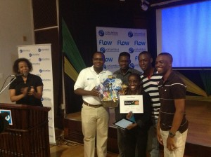 Team Agro winning 1st place at Startup Weekend Jamaica in 2013